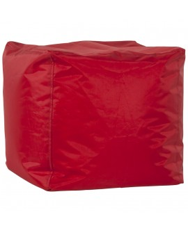 Pouf design FUNKY RED 40x40x40 cm