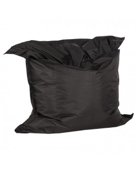 Pouf design FAT BLACK 129x168x33 cm
