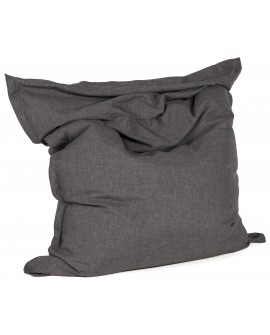 Pouf design ZAK DARK GREY 129x168x33 cm