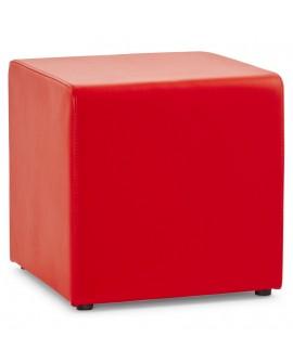 tabouret bas RUBIK RED 41x41x41 cm