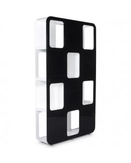 Mobilier bureau DAMA BLACK 30x120x207 cm