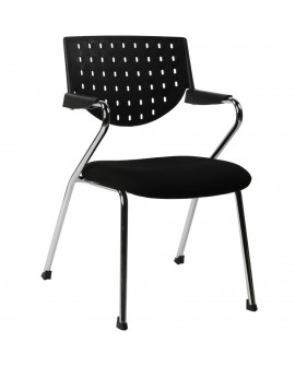 fauteuil de bureau YALE BLACK 54x61x84 cm