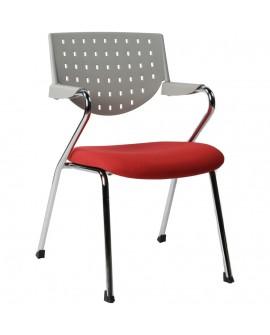 fauteuil de bureau YALE SILVER 54x61x84 cm
