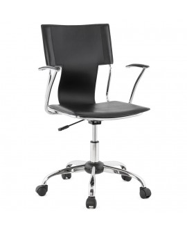 fauteuil de bureau OXFORD BLACK 57x57x92 cm