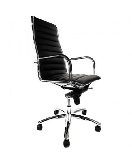 fauteuil de bureau TORINO BLACK 65x70x106 cm