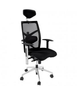 fauteuil de bureau MIT BLACK 63x70x133 cm