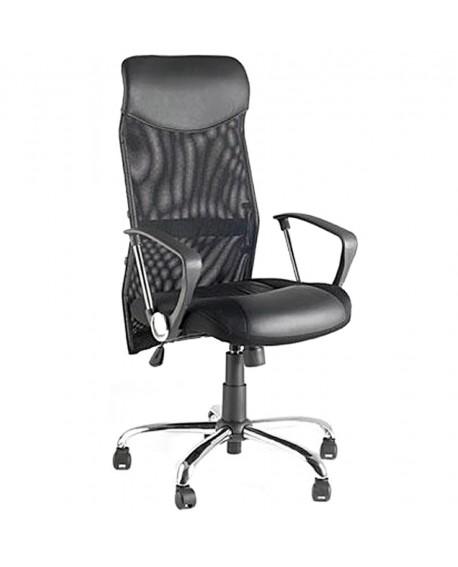 fauteuil de bureau CAMBRIDGE BLACK 66x66x119 cm