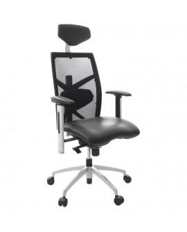 fauteuil de bureau OSAKA BLACK 63x70x133 cm