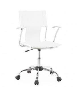 fauteuil de bureau OXFORD WHITE 57x57x92 cm