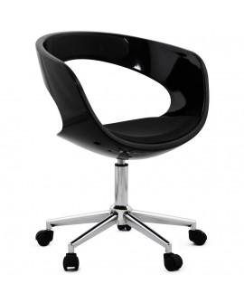 fauteuil de bureau FELIX BLACK 57x63x80 cm