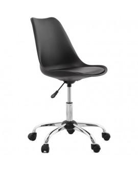 fauteuil de bureau EDEA BLACK 58x58x93 cm