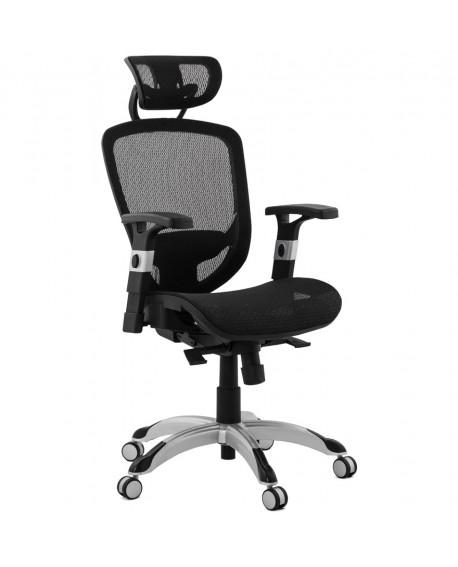 fauteuil de bureau KATRINA BLACK 66x66x127 cm