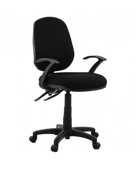 fauteuil de bureau BETSY BLACK 54x70x106 cm