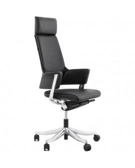 fauteuil de bureau KENNEDY BLACK 65x65x132 cm