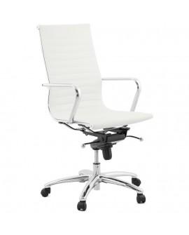 fauteuil de bureau RELIK WHITE 67x67x113 cm