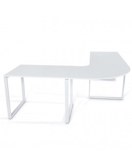 bureau design KUVO WHITE 230x230x76 cm