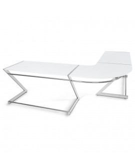 bureau design ARES WHITE 229x250x74 cm