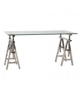 Bureau design VINTY CLEAR 70x150x85 cm