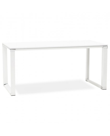 Bureau design WARNER WHITE 80x160x74 cm
