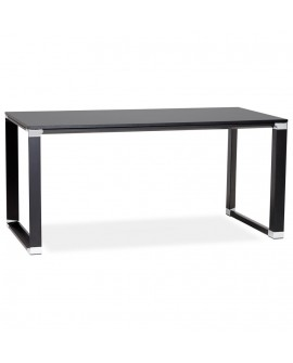 Bureau design WARNER BLACK 80x160x74 cm