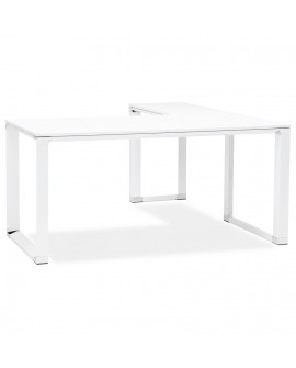 Bureau design WARNER WHITE 160x170x74 cm