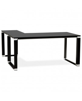 Bureau design WARNER BLACK 160x170x74 cm