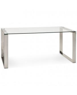 Bureau design VITRO CLEAR 80x160x75 cm