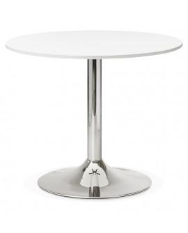 Bureau design RADON WHITE 90x90x77 cm
