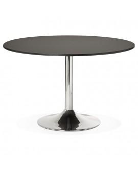 Bureau design RADON BLACK 120x120x77 cm